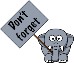 dont forget elephant