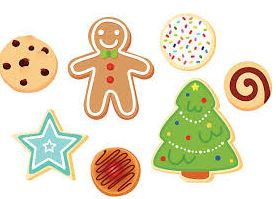 December- Sugar Cookie Cut Outs