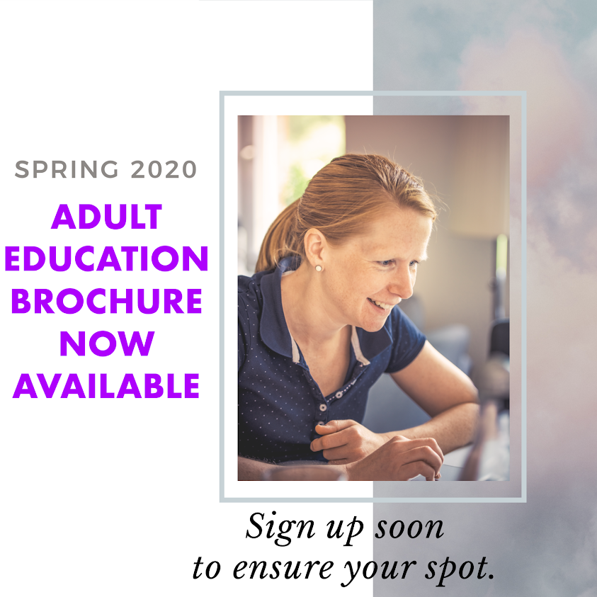 Spring Adult Education Courses